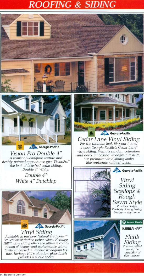 Beckerle Lumber - Roofing & Siding