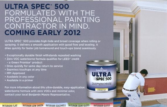 Benjamin Moore Ultra Spec 500