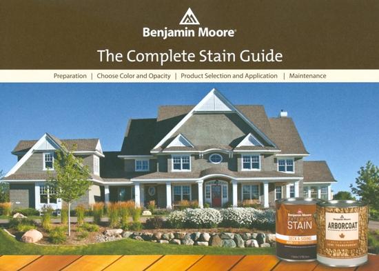 Beckerle Lumber Benjamin Moore Exterior Stain Guide