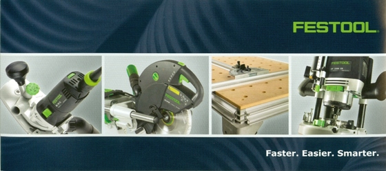 FESTOOL in STOCK at BECKERLE LUMBER Supply Co Inc.             Unmistakably the best tools you'll ever own.              - in stock
