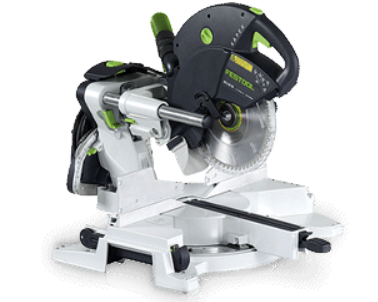 Beckerle - FESTOOL                                                         compound mitre saw                             click for info on kapex compound mitre saw