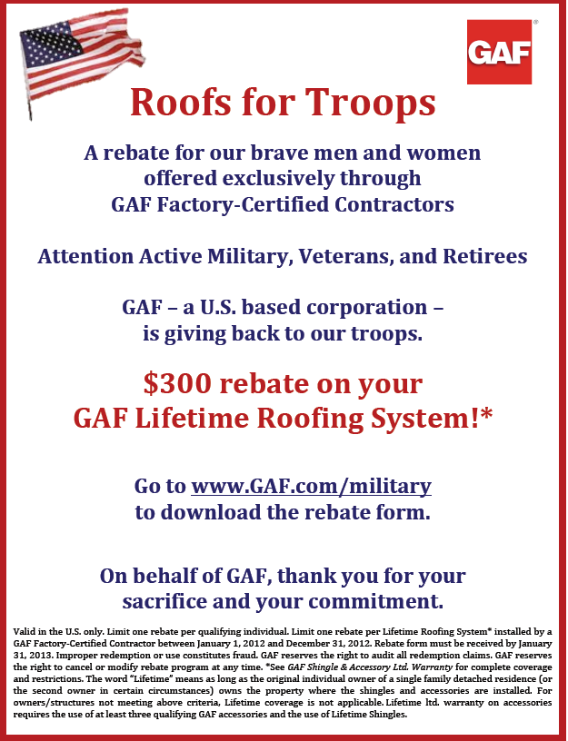 Beckerle Lumber Gaf Roof For Troops Rockland County Ny