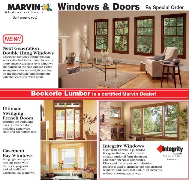 marvin window dealers doors marvin mto window doors beckerle lumber windows built for you rockland
