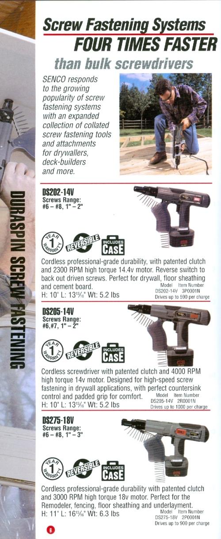 Beckerle Lumber SENCO tools - ROCKLAND COUNTY NY