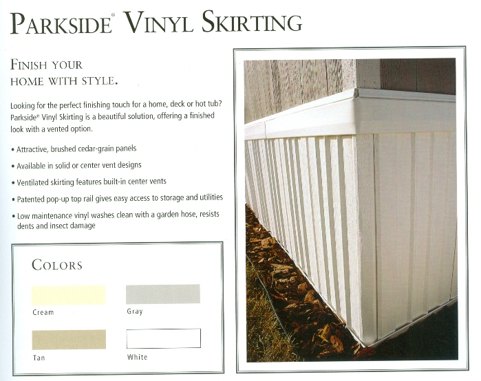 BECKERLE LUMBER ONE WITH Skirting             - Beckerle LUMBER keep us in mind for all your building supplies...
