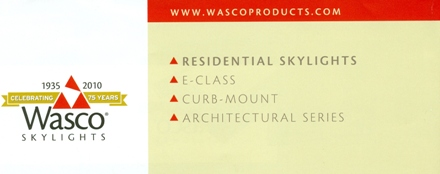 WASCO Skylights - MADE IN USA