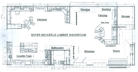 Beckerle Lumber Spring Valley Showroom Home Page