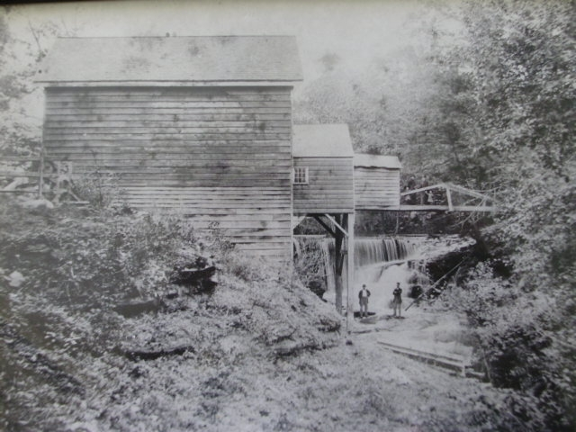 Philip's Lumber Mill in Pearl River NY circa 1880  (where the 1st Laurence Thomas Beckerle broke his leg!)
