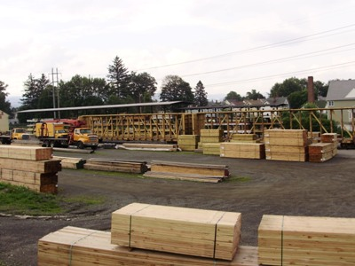 Beckerle lumber - getting lumber in direct from the mills