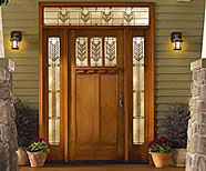 Time for A New Front door? Beckerle Lumber is your Store.