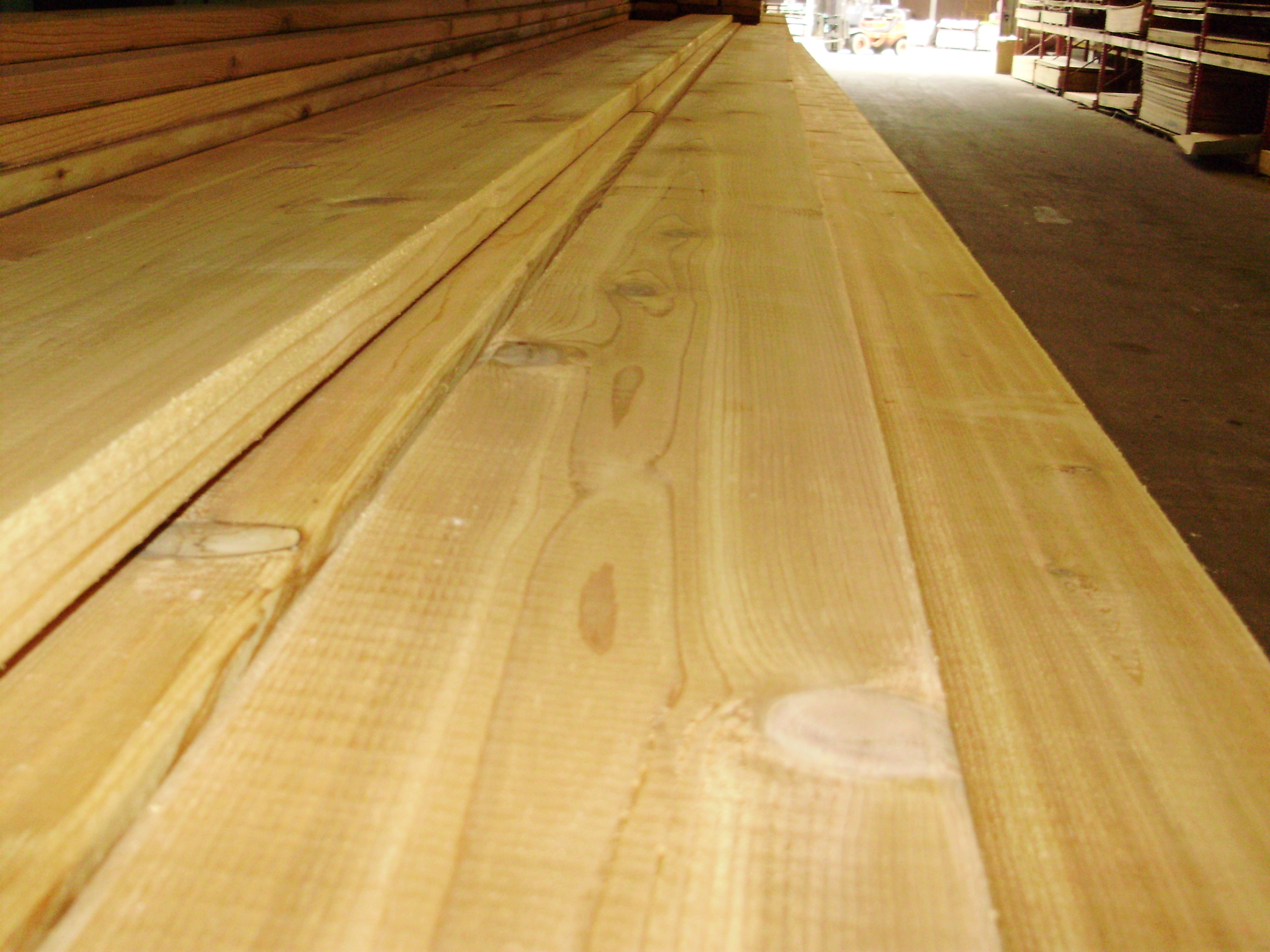 Beckerle lumber cedar for Cedar flooring