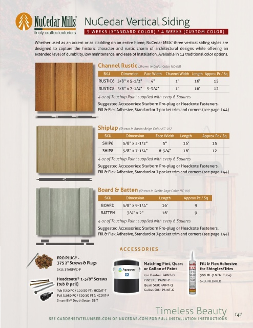 Page 141 Garden State Moulding Catalog